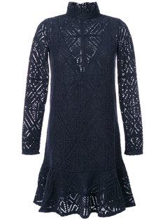 ажурное платье-водолазка See By Chloé