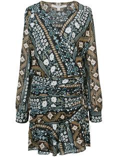 платье с V-образным вырезом Veronica Beard
