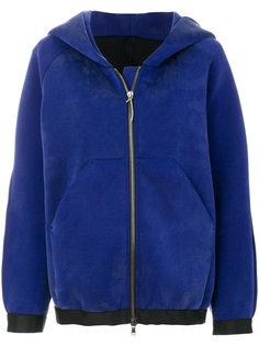 куртка на молнии с капюшоном Ilaria Nistri