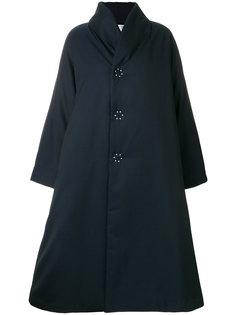 удлиненное утепленное пальто свободного кроя Comme Des Garçons Comme Des Garçons