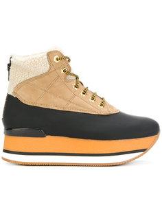 ботинки на платформе Hogan