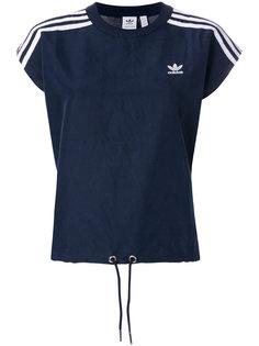 футболка с фирменными полосками Adidas