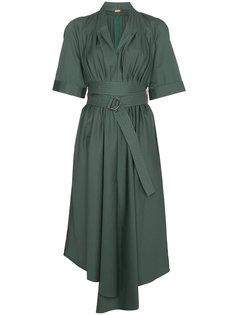 асимметричное платье миди  Adam Lippes