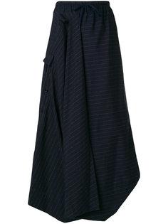длинная юбка в полоску Bernhard Willhelm