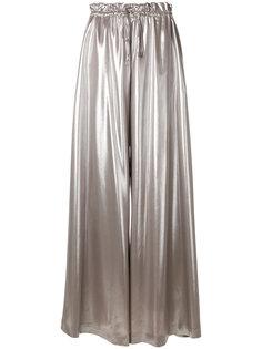 широкие брюки со шнурком  Sara Battaglia