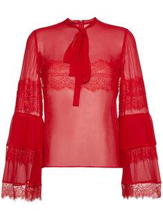 кружевная блузка Giambattista Valli