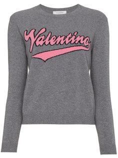 джемпер с логотипом Valentino