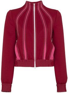спортивная куртка Techno с контрастной строчкой  Valentino