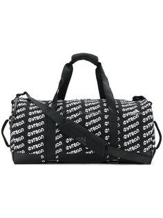 дорожная сумка с принтом логотипа Gosha Rubchinskiy ГОША РУБЧИНСКИЙ
