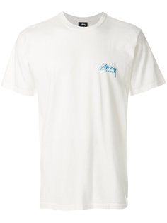 классическая футболка с логотипом Stussy