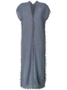 джутовое платье-миди с узелками Caravana