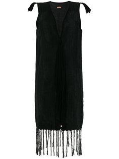 джутовое платье без рукавов с кисточками Caravana