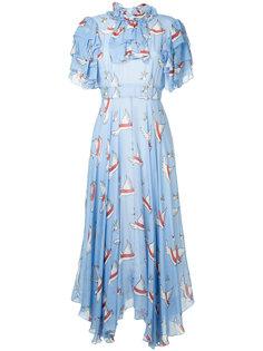 платье с лебедями Macgraw
