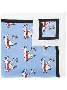 шарф с лебедями Macgraw