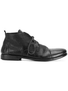 ботинки с потертой отделкой Marsèll