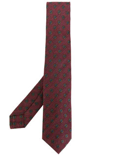 галстук с цветочным узором Barba
