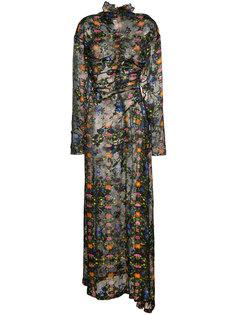 платье с высокой горловиной Ameline  Preen By Thornton Bregazzi
