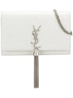 сумка-кошелек Kate с выделкой под крокодила Saint Laurent