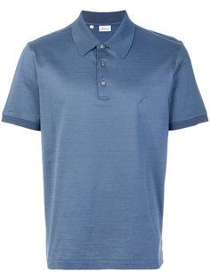 рубашка-поло с вышитым логотипом Brioni