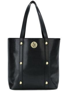 сумка-тоут с логотипом и заклепками  Armani Jeans