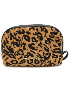 косметичка с леопардовым принтом  Armani Jeans