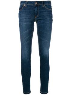 джинсы скинни Burberry