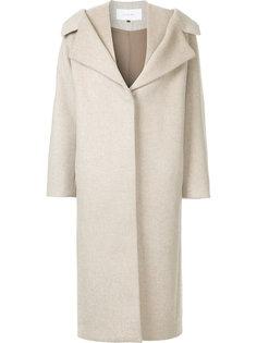 пальто с драпировкой на воротнике  Le Ciel Bleu