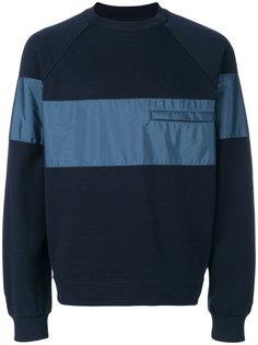 полосатый свитер с круглым вырезом Prada