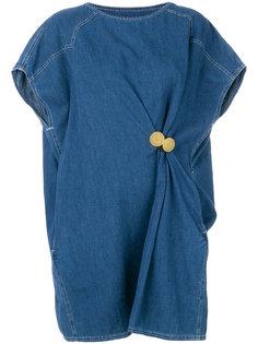 платье-футболка мешковатого кроя Mm6 Maison Margiela