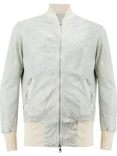 куртка-бомбер с панельным дизайном Giorgio Brato