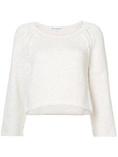укороченный свитер свободного кроя  Apiece Apart