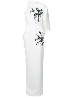 длинное платье Morphology  Maticevski