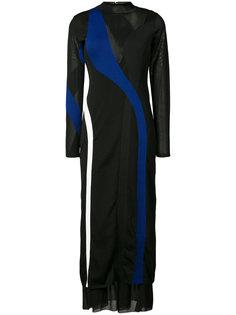 платье дизайна колор-блок Proenza Schouler