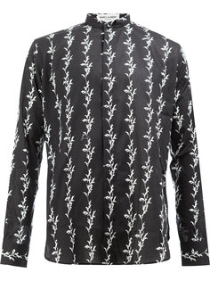 рубашка с принтом Saint Laurent