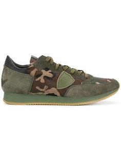 камуфляжные кроссовки Philippe Model