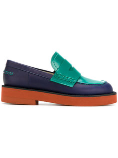 colour blocked loafers Marni