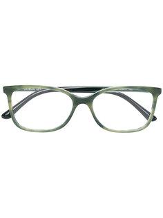 очки с квадратной оправой Giorgio Armani