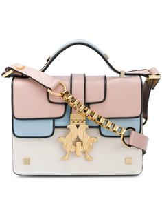 """сумка на плечо дизайна """"колор-блок"""" Giancarlo Petriglia"""