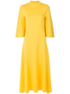 длинное платье  с расклешенными рукавами Pringle Of Scotland
