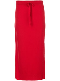 длинная юбка в стиле casual Pringle Of Scotland