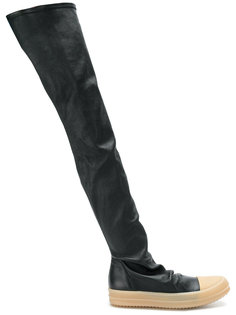 кроссовки с носочной вставкой Rick Owens