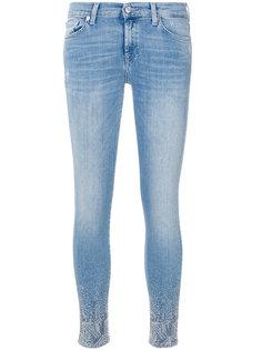 декорированные джинсы кроя скинни 7 For All Mankind