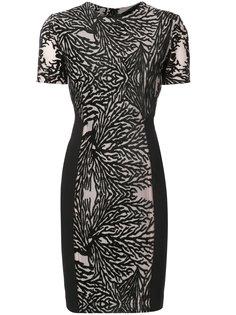 платье с выжженным эффектом  Yigal Azrouel