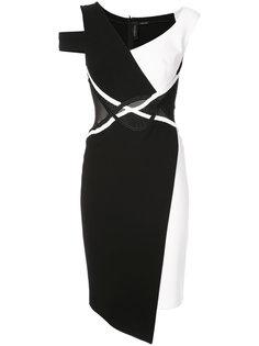 асимметричное платье  Yigal Azrouel