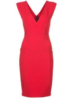 платье с V-образным вырезом  Yigal Azrouel