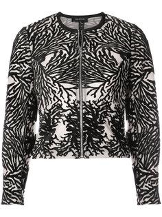 пиджак с выжженным эффектом  Yigal Azrouel