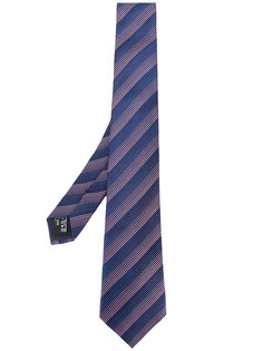 тканый галстук в полоску Giorgio Armani