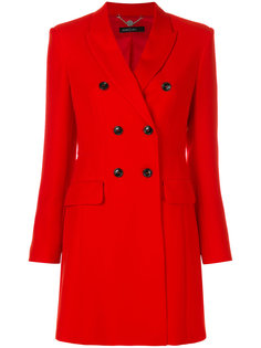 двубортное пальто узкого кроя Marc Cain