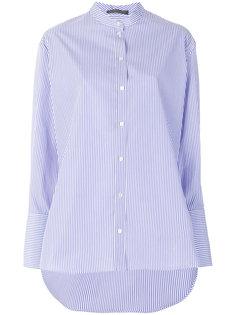 полосатая рубашка  Alexander McQueen