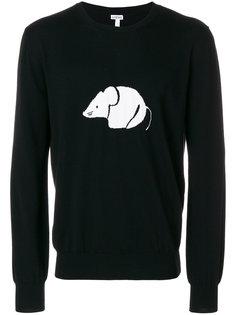 свитер с принтом мыши Loewe